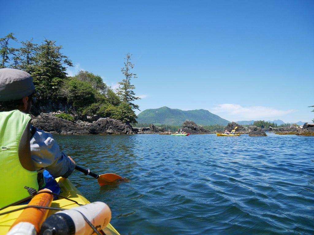 Kayak - Ucluelet sur l'île de Vancouver