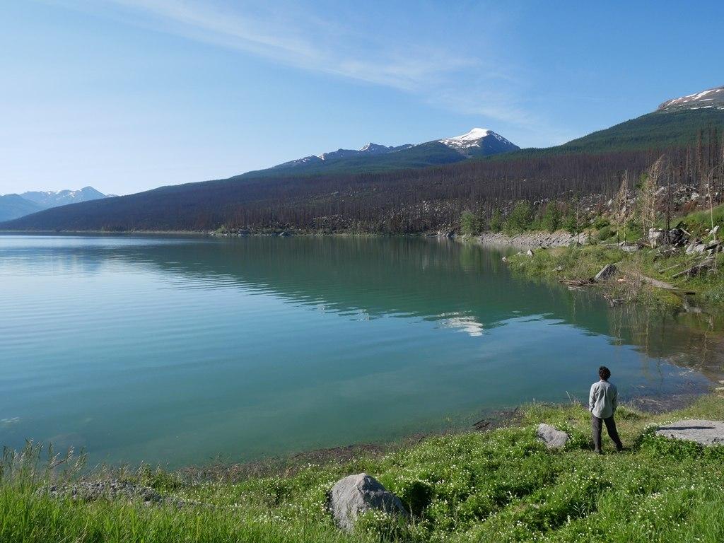 Lac Medicine à Jasper