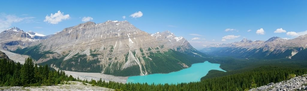Lac Peyto à Banff