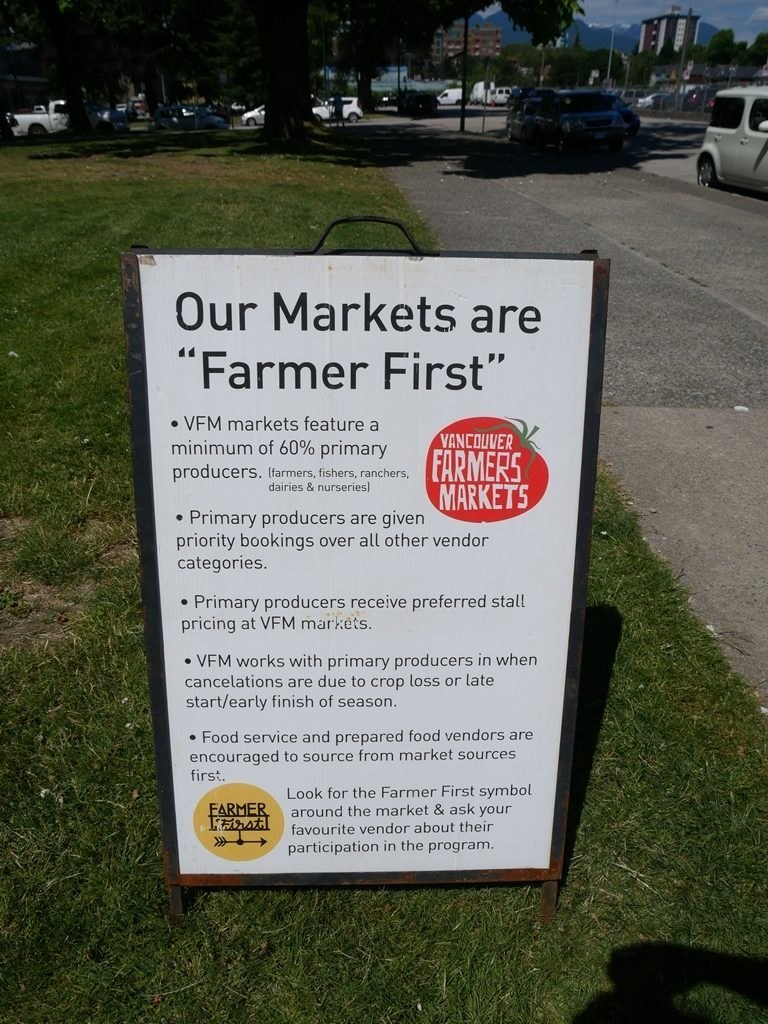 Marché fermier - Vancouver