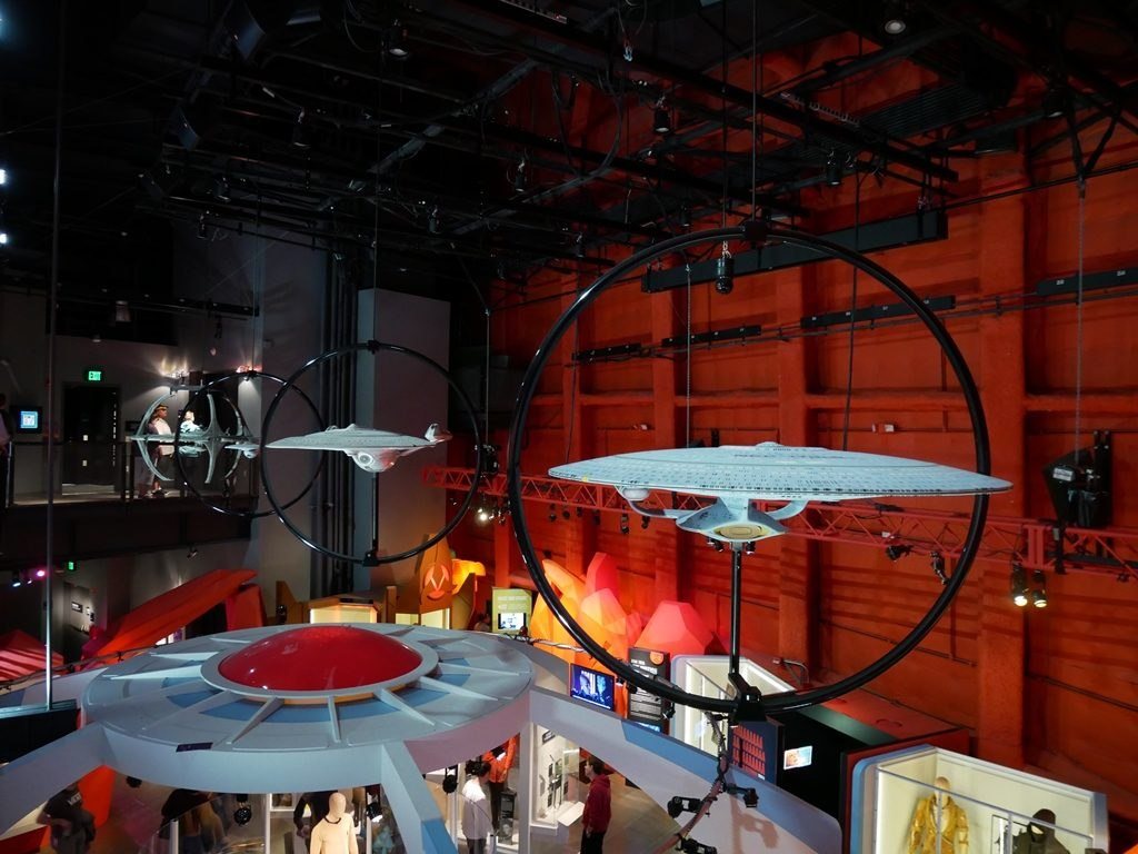 MoPOP expo Star Trek vaisseaux