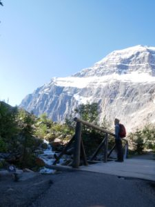 Mont Edith Cavell à Jasper