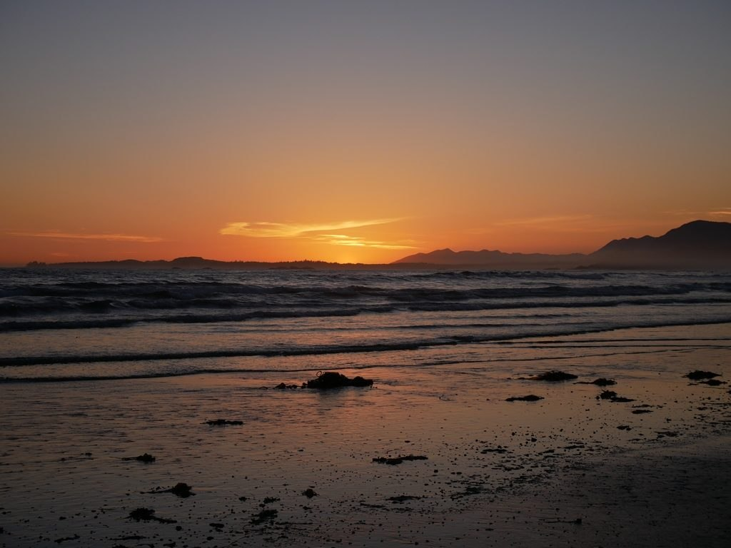 Couché de soleil - Pacific Rim