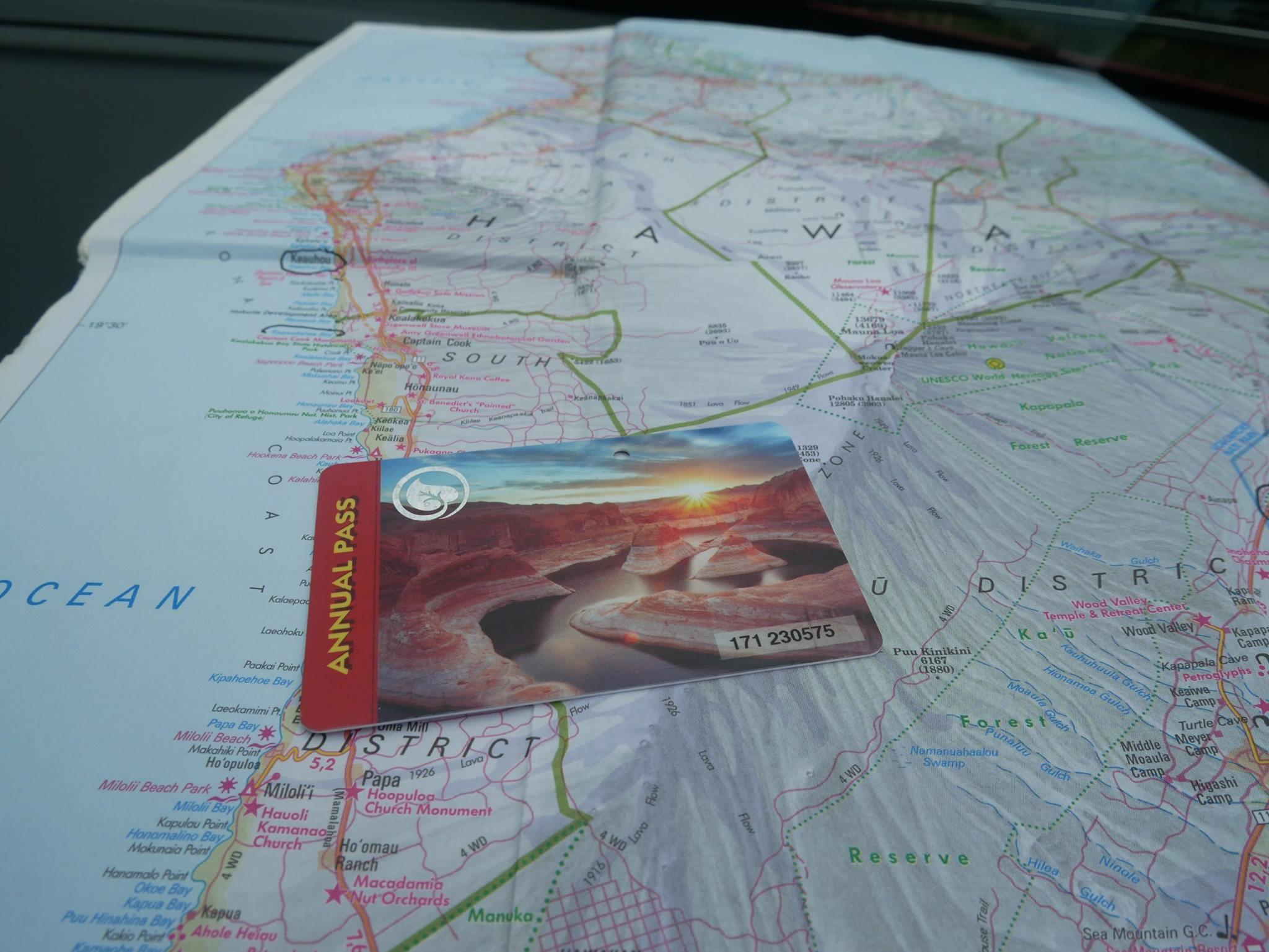 Pass annuel pour les parcs nationaux des États-Unis