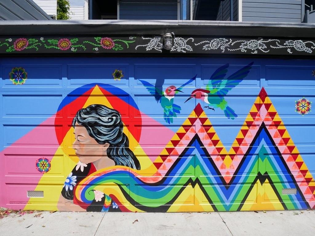 Murales Quartier Mission à San Francisco