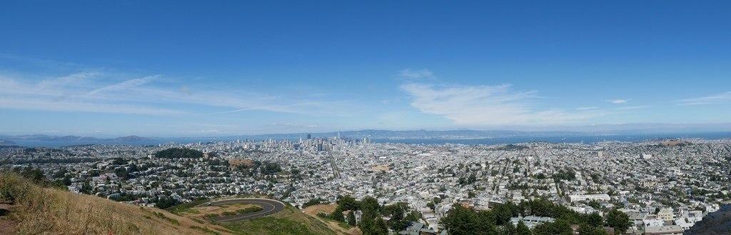 Twin Peaks à San Francisco