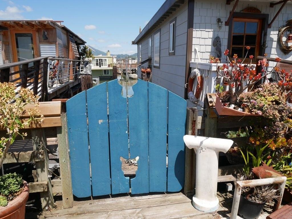 Village flottant de Sausalito
