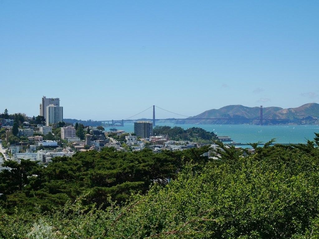 Vue depuis la coit tower à San Francisco