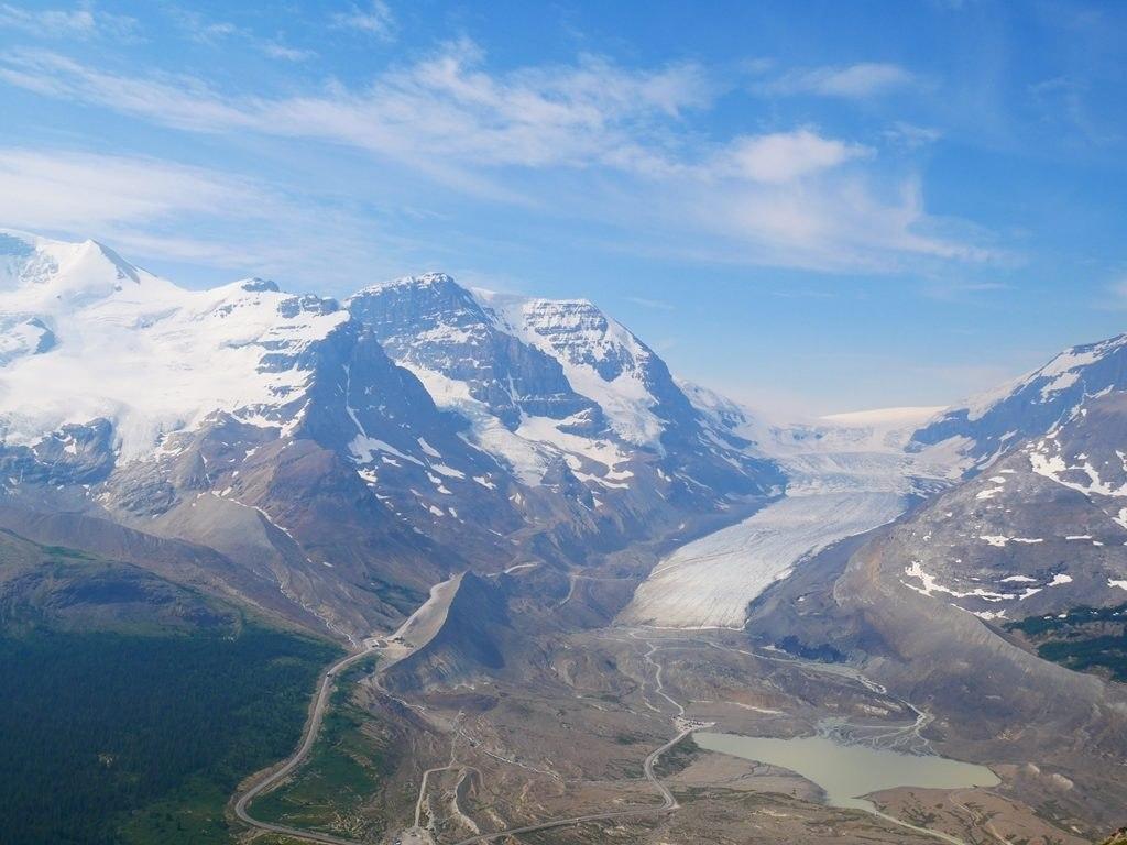 Wilcox Pass Trail - Glacier Athabasca