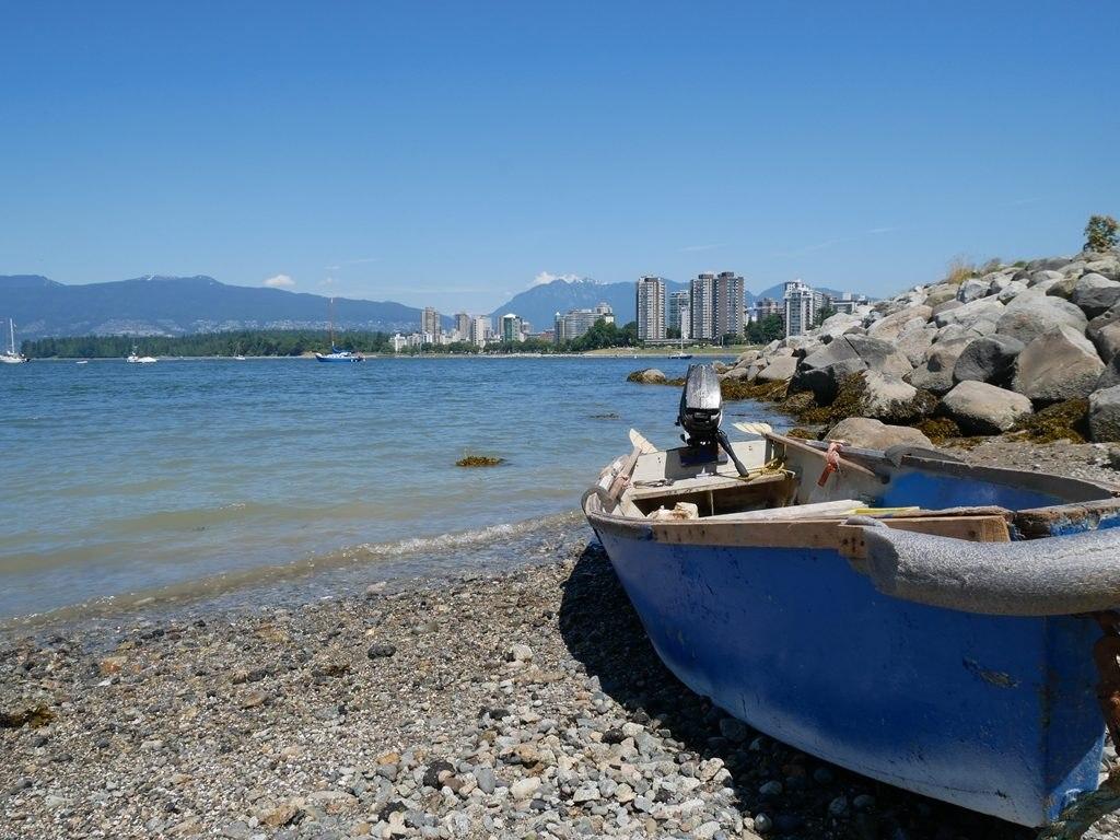 Plage de Kitsilano - Vancouver