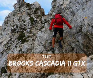 Test Brooks Cascadia 11 GTX