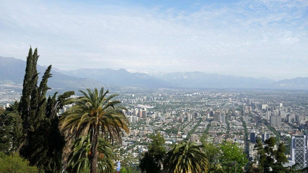Randonnée Cerro San Cristobal - Journal de bord au Chili