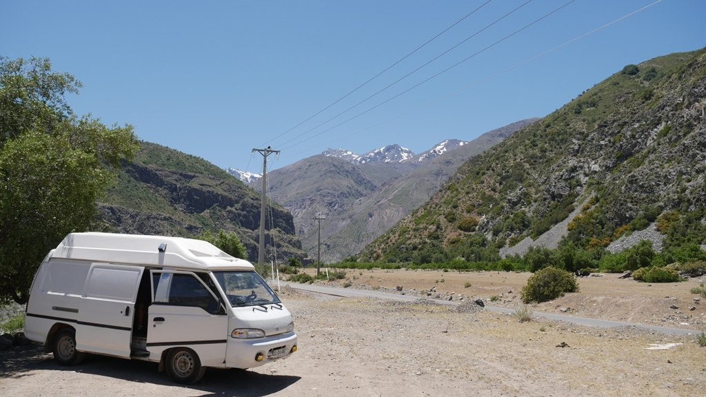 Notre van aménagé - Comment vendre un véhicule au Chili