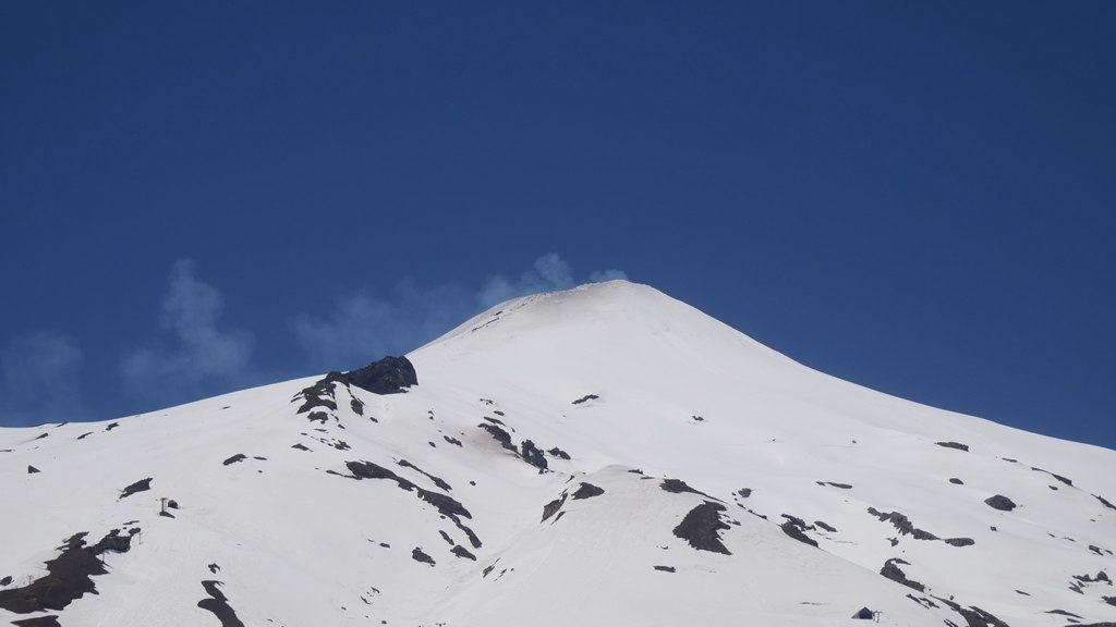 Volcan Villarica proche de Pucón