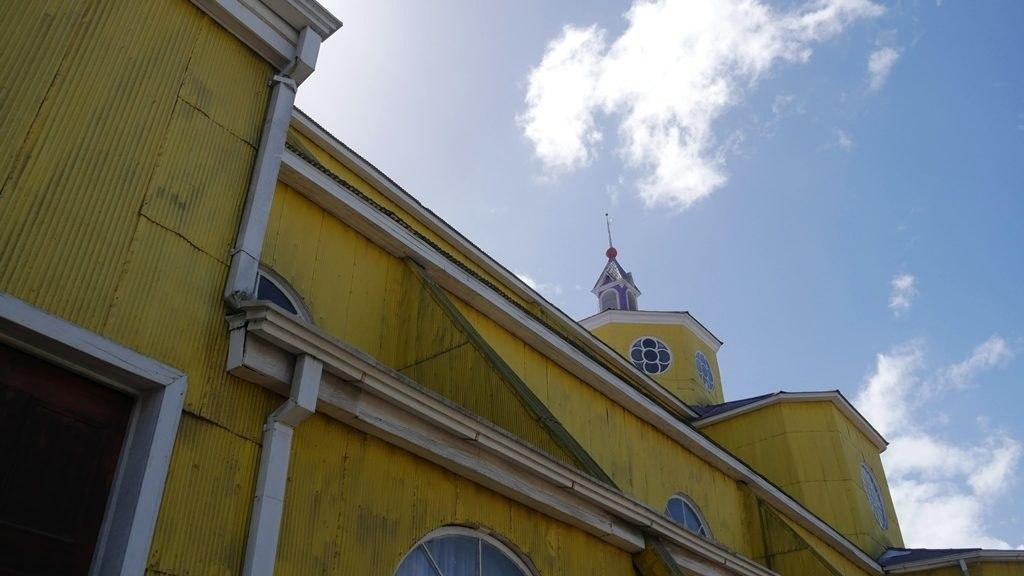 Église de Castro à Chiloe