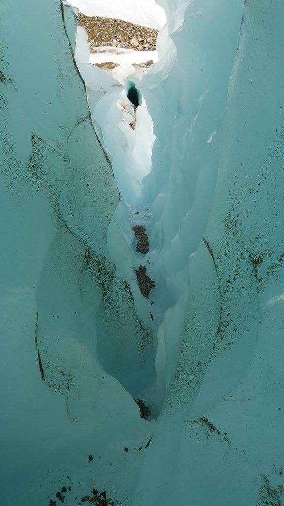 Particularités du glacier - Carretera Austral