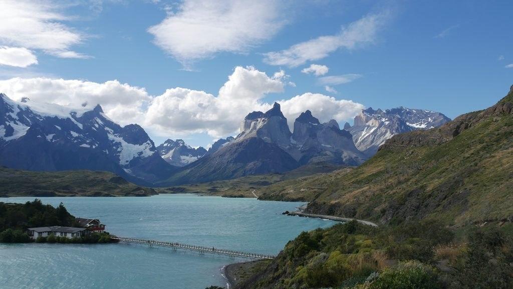 Vue depuis la montée du mirador Condor - Torres del Paine