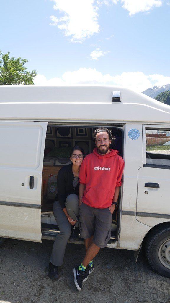 Deux Evadés et la furgoneta
