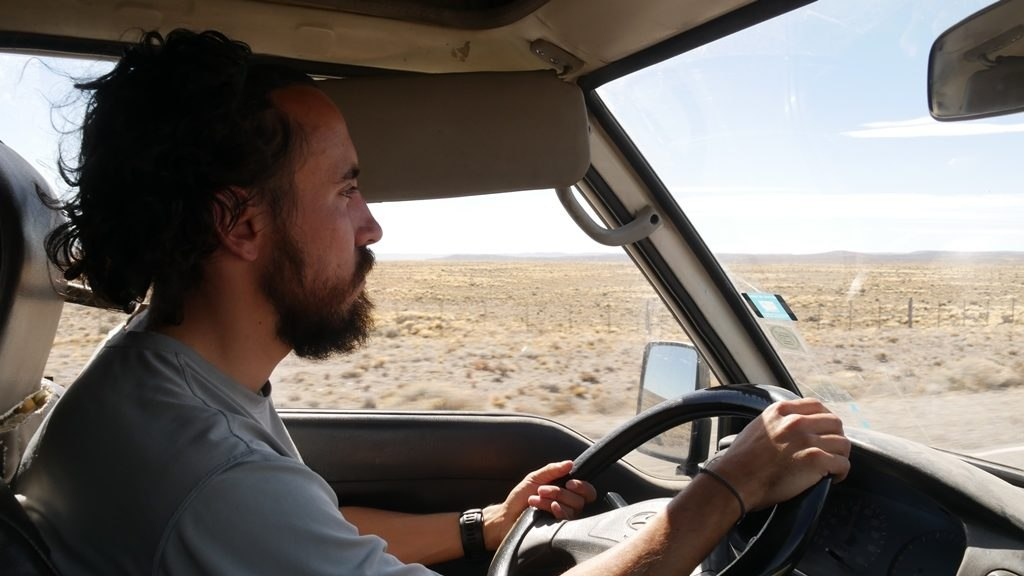 Pierre sur la Ruta 40 - Journal de bord au Chili et Argentine