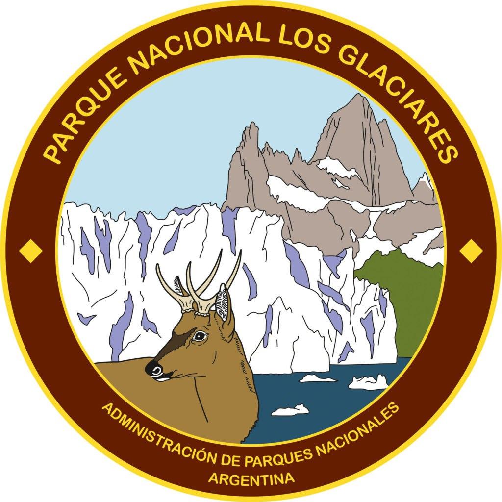 Logo parque nacional de los glaciares