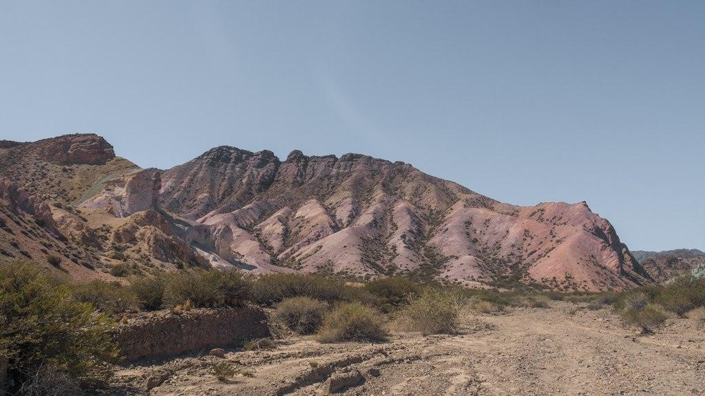 Cerro siete colores à Uspallata dans la région de Mendoza