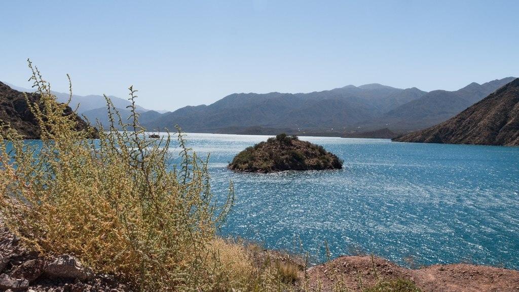 Embalse Potrerillos dans la région de Mendoza