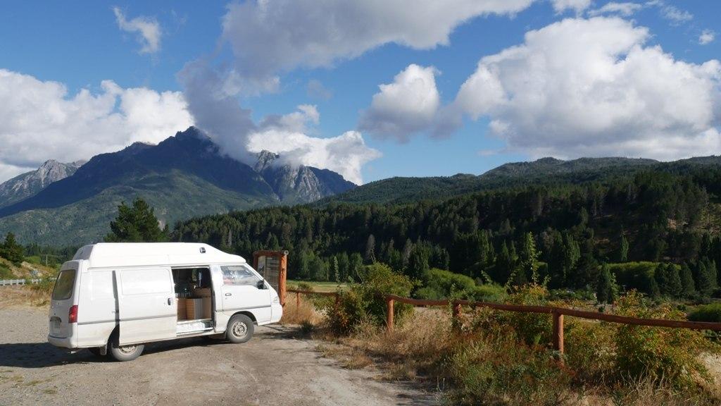 La furgoneta sous le soleil argentin - Vendre un véhicule au Chili