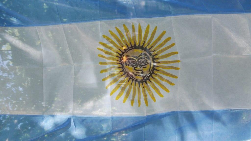 Le drapeau argentin - Journal de bord en Argentine