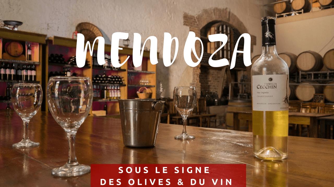 Mendoza sous le signe olivier vin