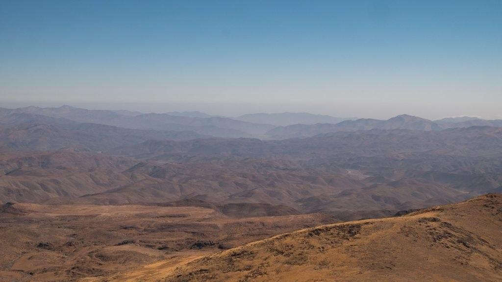 Vue depuis l'Observatoire de la SIlla