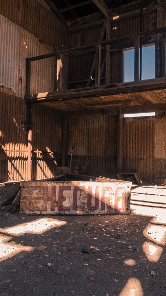 Atelier abandonné de Humberstone et Santa Laura