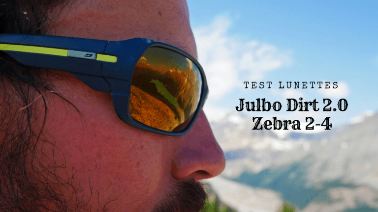Lunettes Julbo Dirt 2.0 : test de la version Zebra 2-4