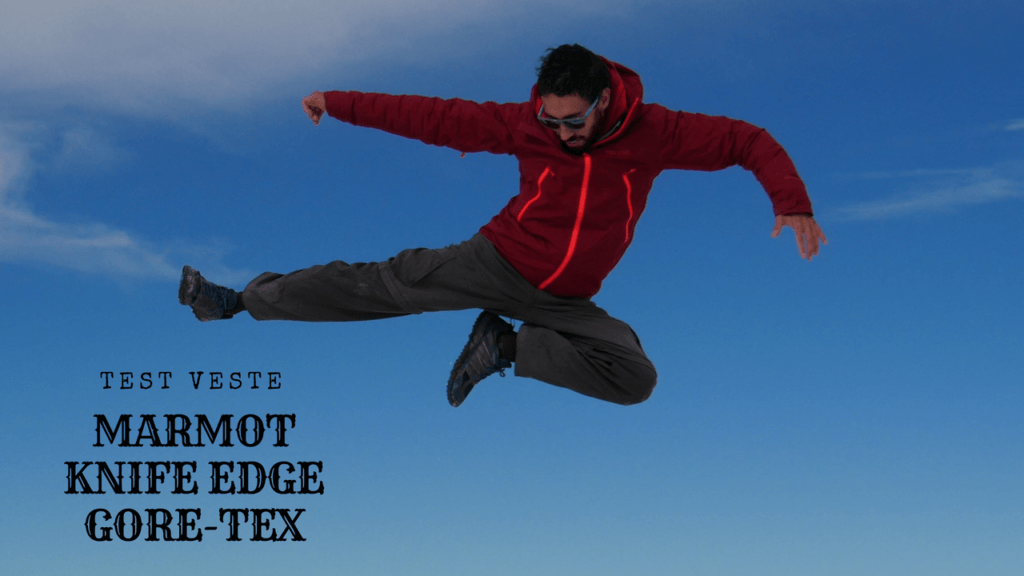 Test veste marmot knife edge gore-tex