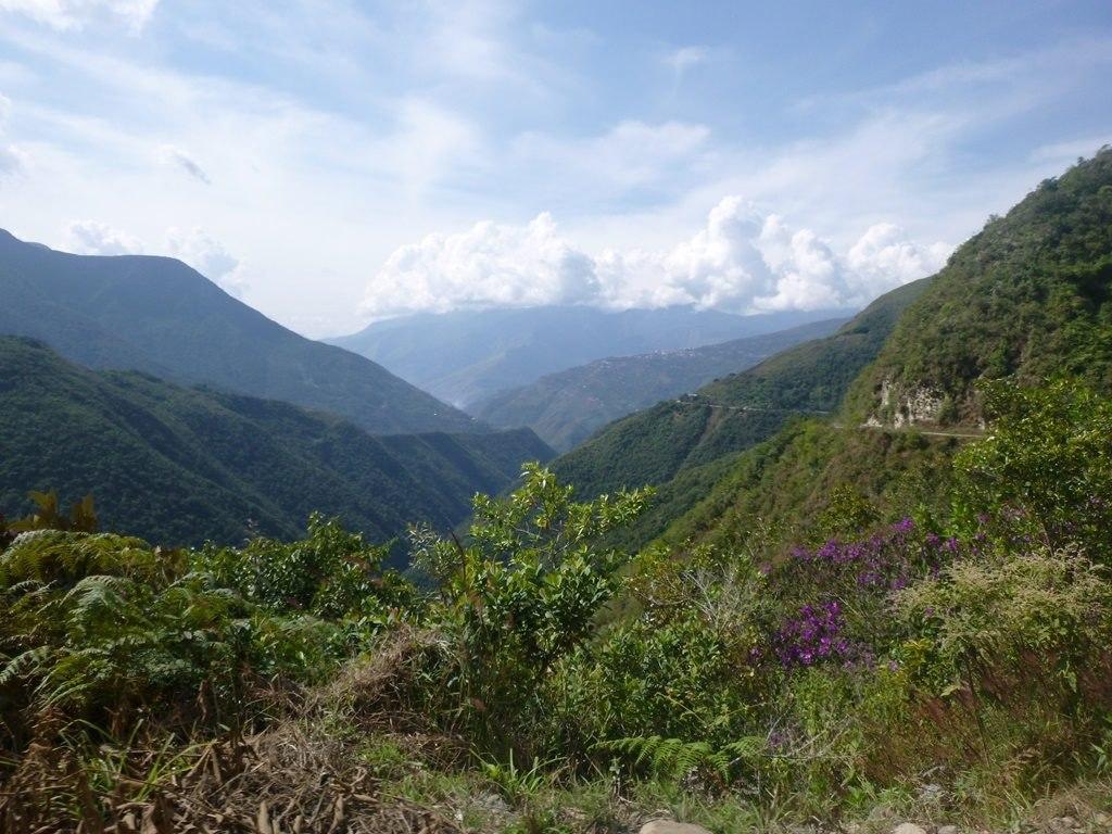 Des paysages si différents de La Paz