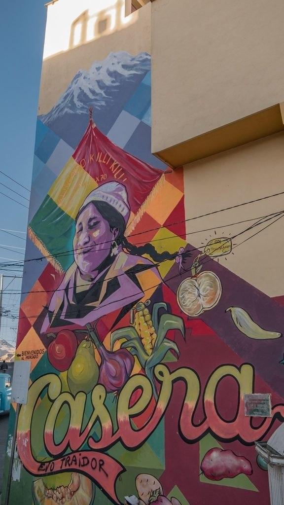 Habitants de La Paz
