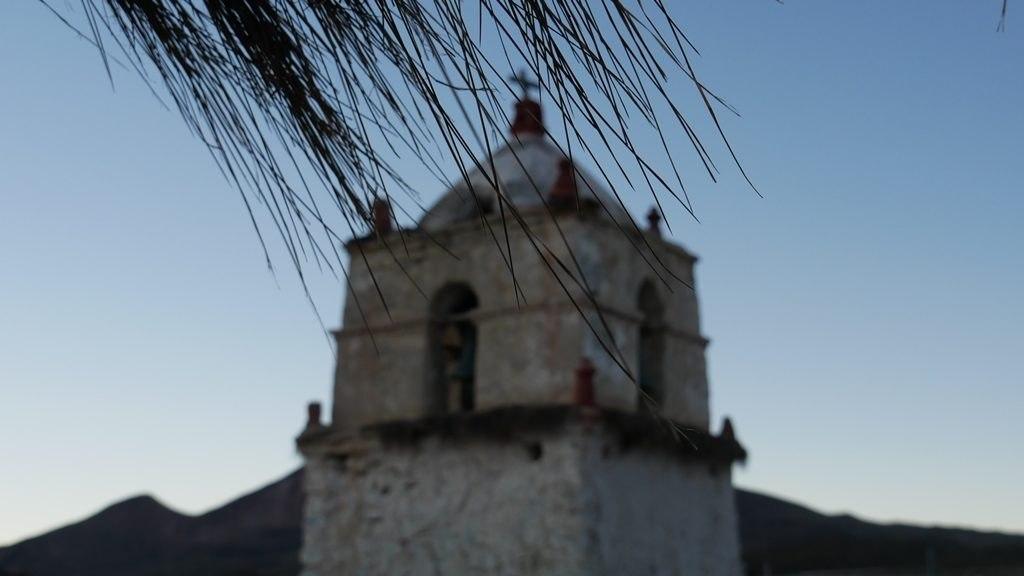 L'église de Parinacota Parc Lauca (2)
