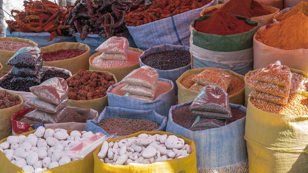 Rues marchés ambiance La Paz