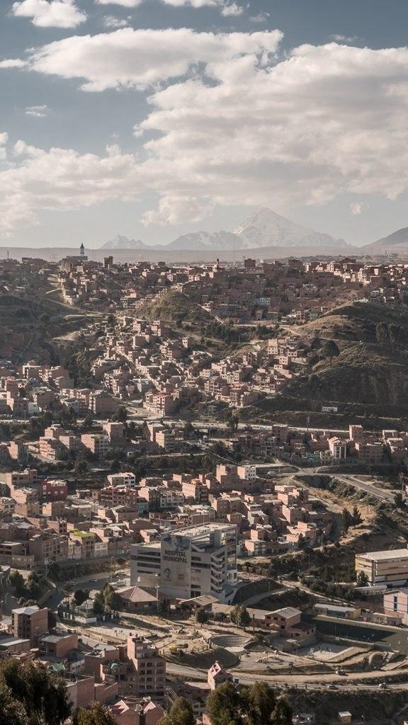 Vue depuis mirador La Paz