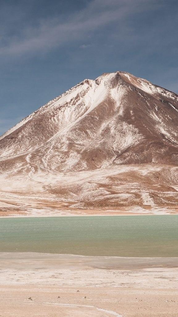 Laguna Verde et volcan Licanbur - Sud Lipez