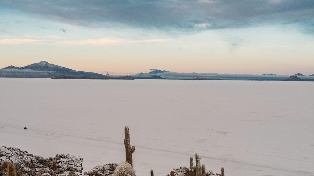 Vue sur le Salar de Uyuni - Sud Lipez