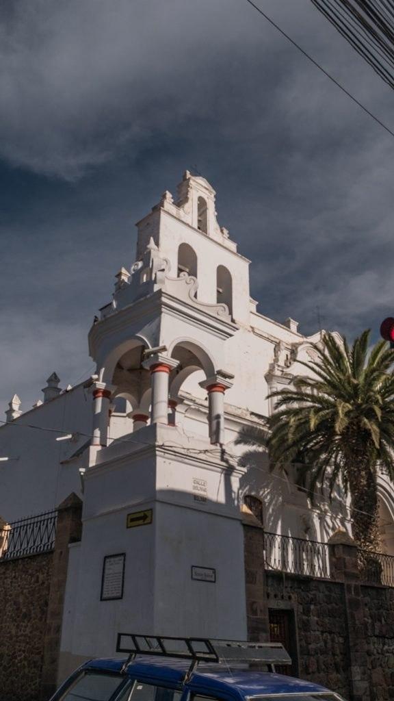 Sucre la ville Blanche Potosi