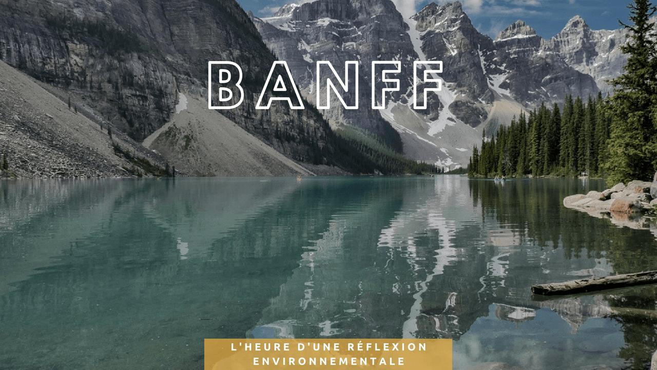 Banff Canada Deux evades
