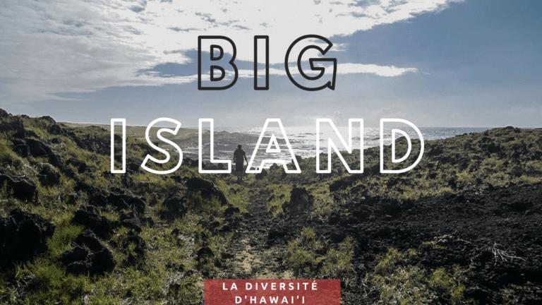 Big Island, la diversité d'Hawai'i
