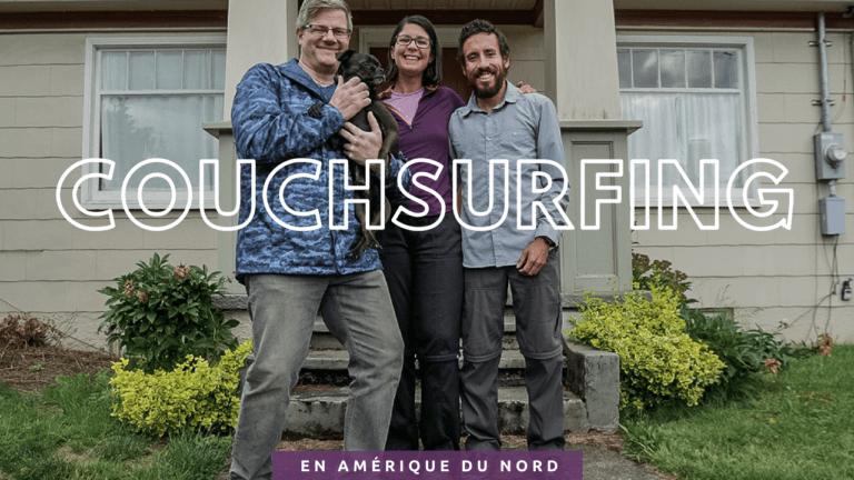 Rencontre de voyage et initiation au couchsurfing en Amérique du nord