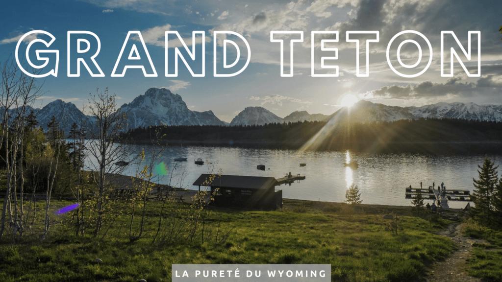 Grand Teton États-Unis Deux évadés