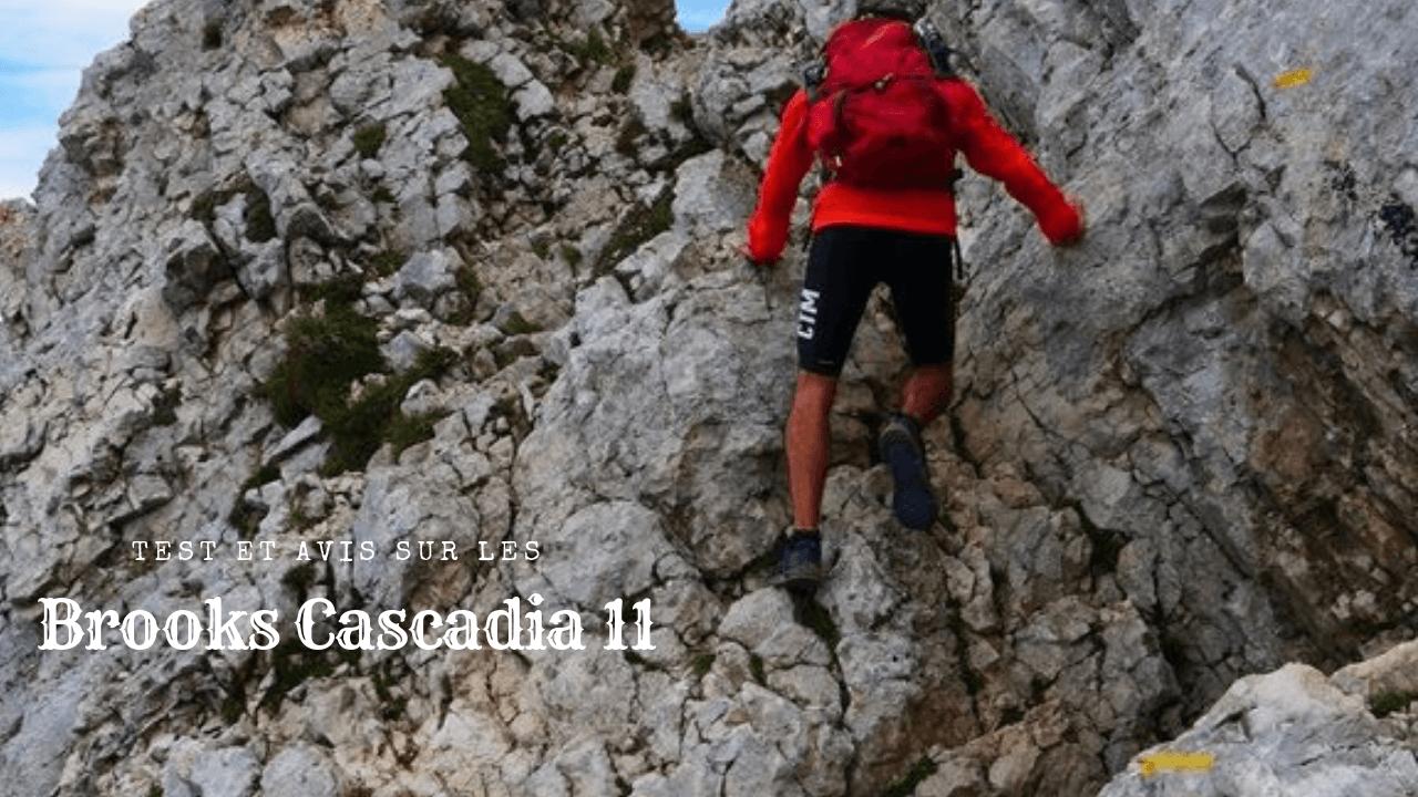 Test des Brooks Cascadia 11 en Gore-Tex