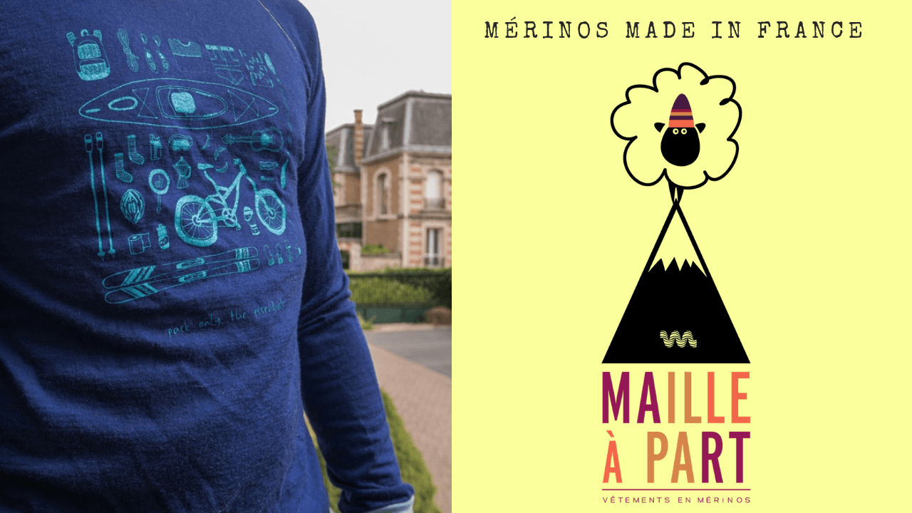 Maille à part, vêtements en mérinos made in France