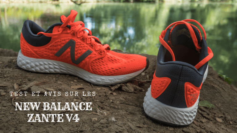 Test et avis sur les New Balance Zante V4