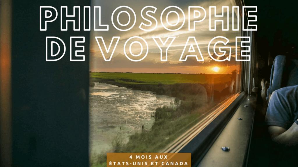 Philosophie de voyage Deux évadés