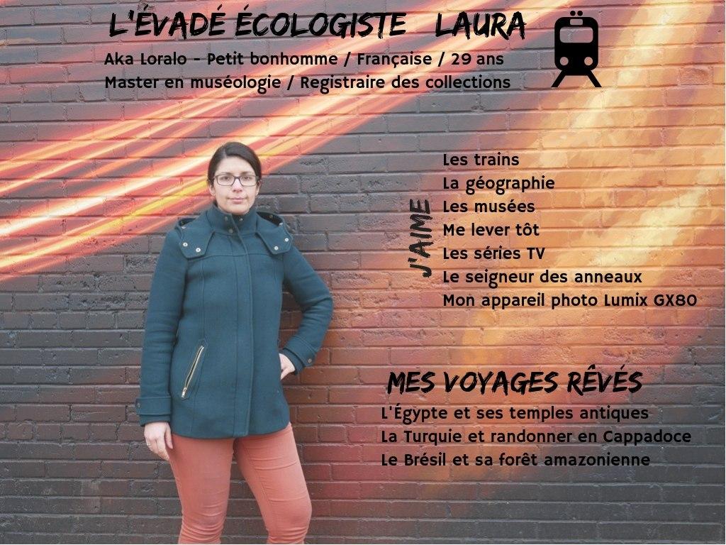Laura evades ecologie